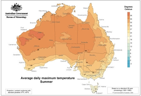 Average Daily Maximum Temperatures jpg