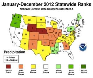 U.S. Statewide Precipitation 2012 jpg