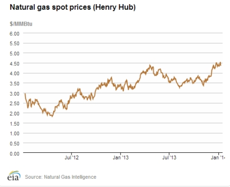 US Nat Gas Spot Prices Jan 14 jpeg