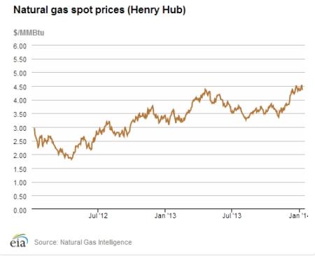 US Nat Gas Spot Prices Jan 14 jpeg