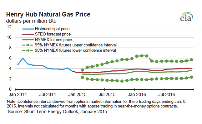 Modelling and forecasting natural gas prices