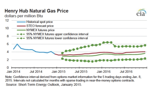 Henry Hub Natural Gas Prices